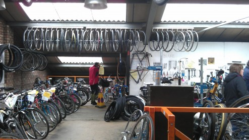 how to donate bikes to charity