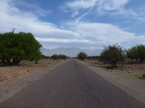 open road cycling in morocco