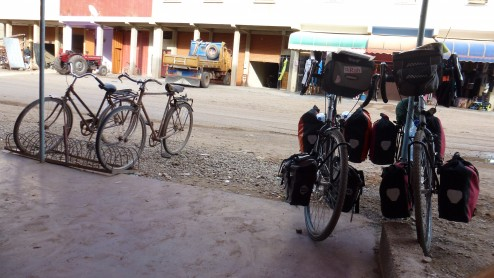 cycling in morocco on touring bikes