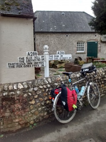 pubs are well sign posted on the cycling route from london