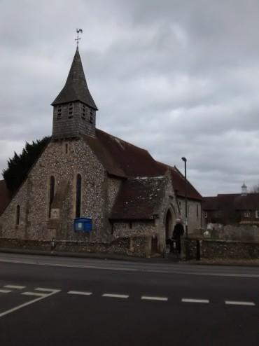 Fabian goes to Church