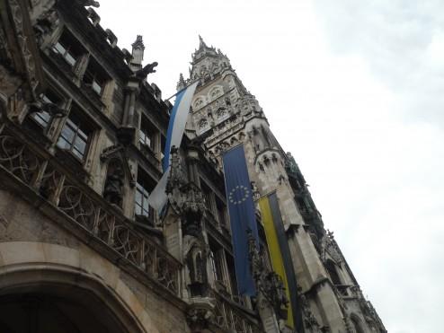 The new council offices, Marienplatz, Munich