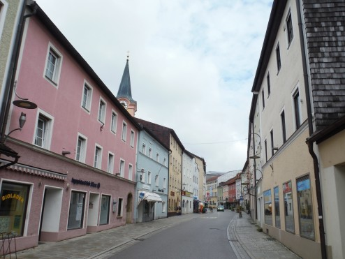 The colourful streets of Teisendorf