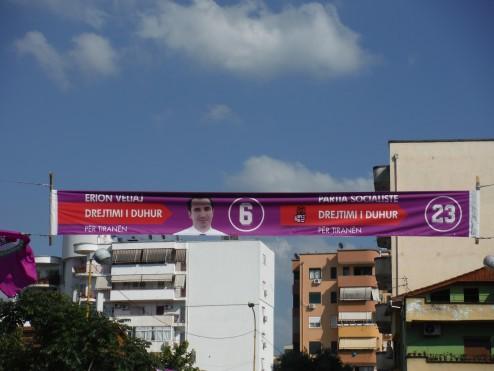 Vote for Pedro, I mean, Erion, vote for Erion