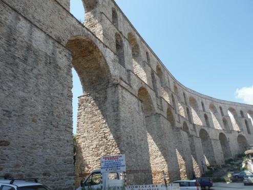 The wonderful viaduct at Kavala