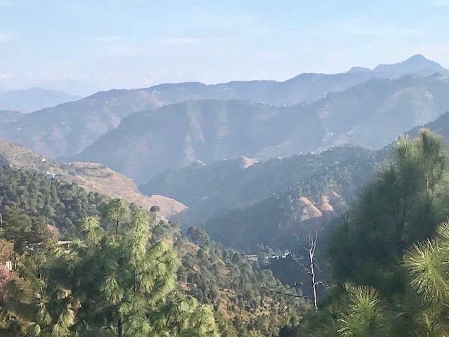 View from the bike; Himachal Pradesh