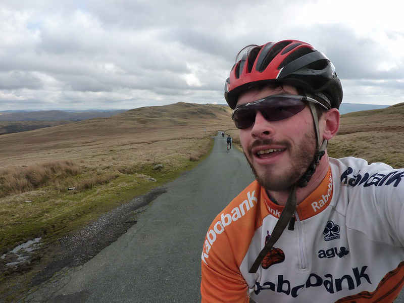 Adrian planned an epic 2 day cycling route around the Lake District