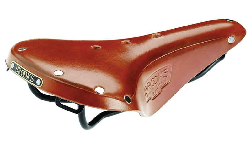 Brooks B17 honey leather saddle