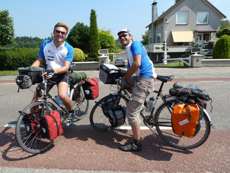 20 countries in 100 days cycling challenge