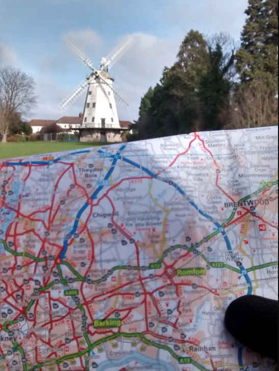 map skills required for uk cycle routes