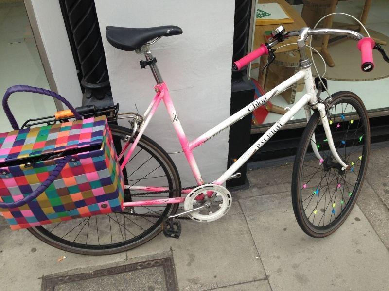 chloe east londons finest single speed shopper