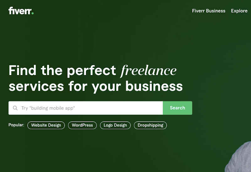 join fiver for freelance gigs