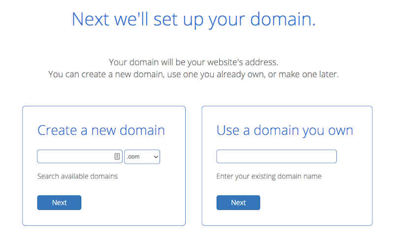 register your domain with bluehost