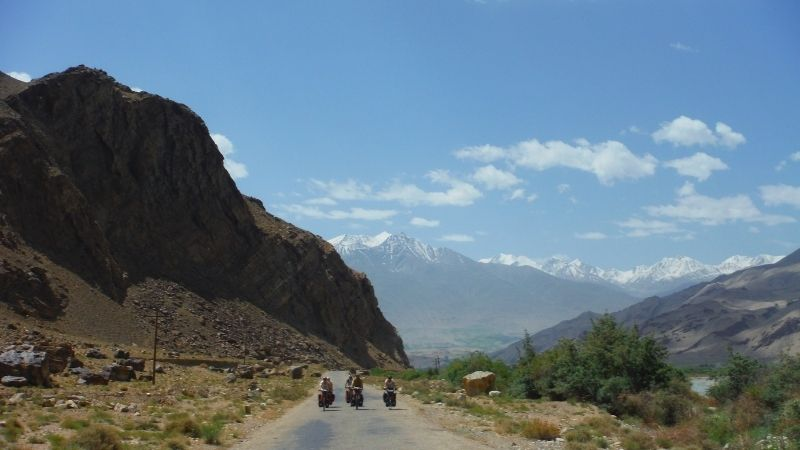 cycle touring the wakhan valley