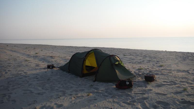 hilleberg nallo 2 gt wild camping in Albania header