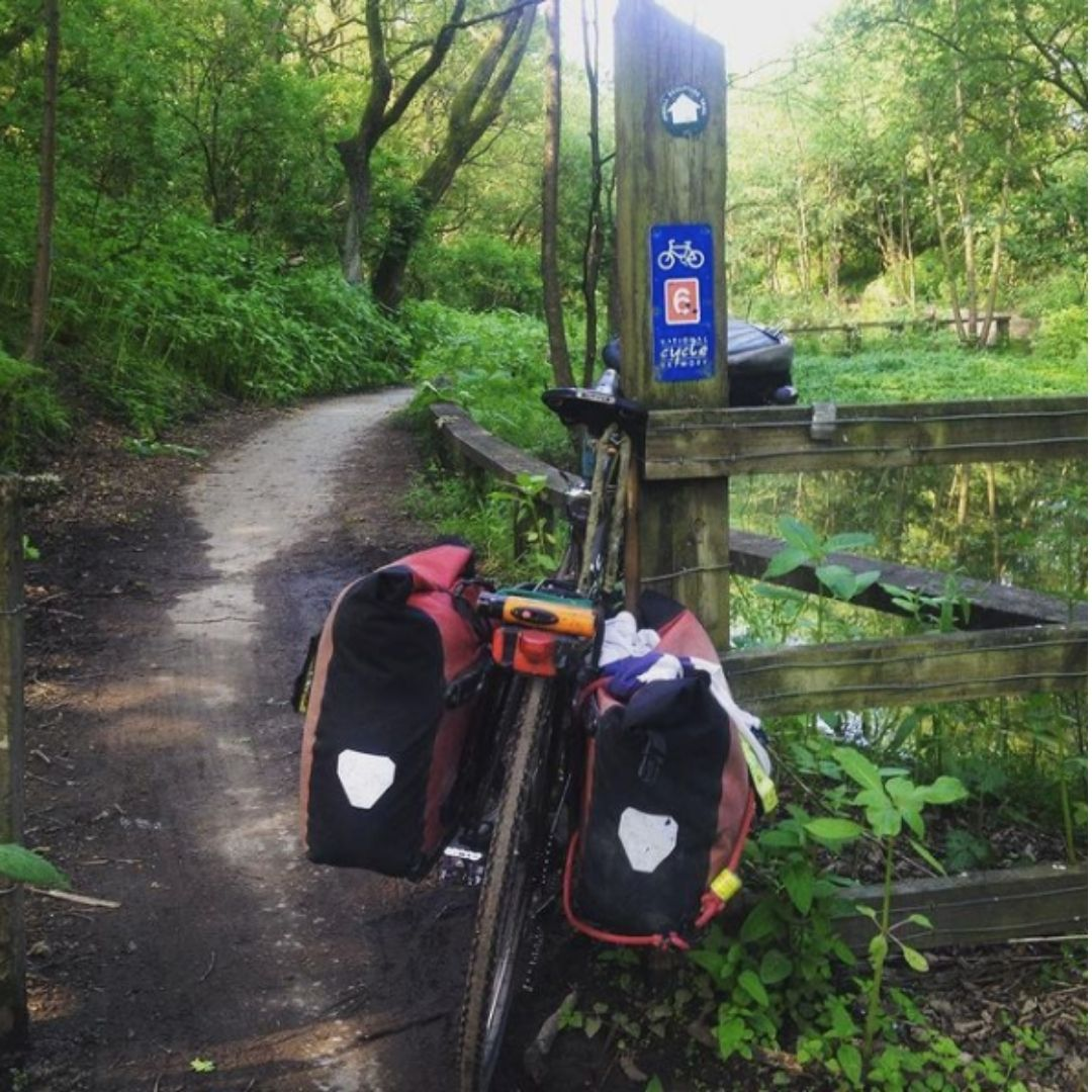 cycle touring the peak district