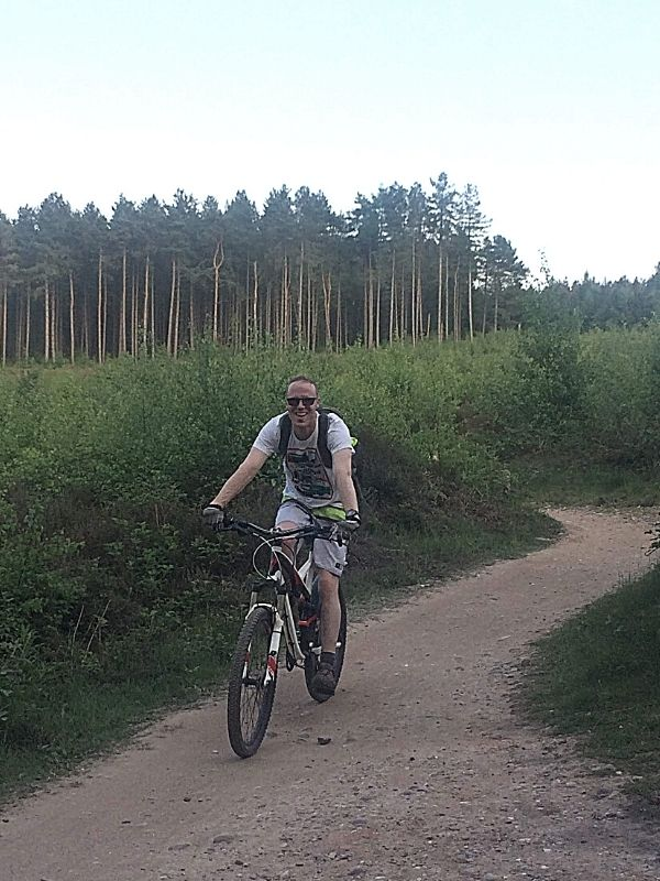 riding the cannock chase mtb trails